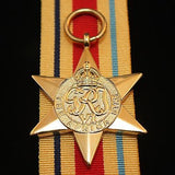 WW2 British/Canada/Commonwealth Africa Star, Reproduction