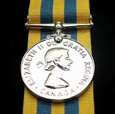 Canadian Korea War Medal, Reproduction