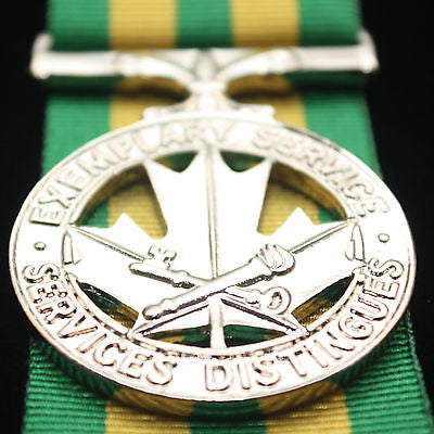 Canadian Exemplary Service Medal, Corrections, Reproduction