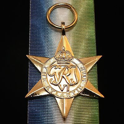 WW2 British/Canada/Commonwealth Atlantic Star, Reproduction