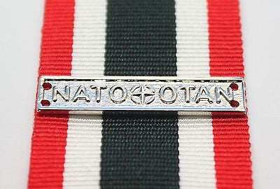 Canadian Special Service Medal NATO/OTAN Bar, Reproduction