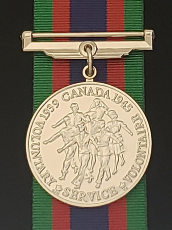 WW2 Canadian Volunteer Service Medal, Reproduction