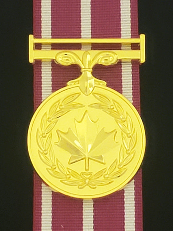 Canadian Medal of Military Valour, Reproduction