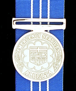 Alberta Emergency Service Medal (AESM), Reproduction