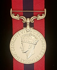 Distinguished Conduct Medal (GVI), Reproduction