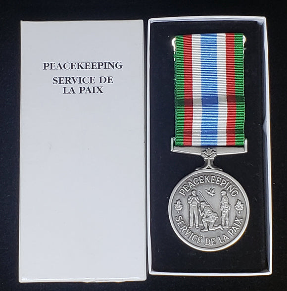 Canadian Peacekeeping Service Medal, Original (#3)