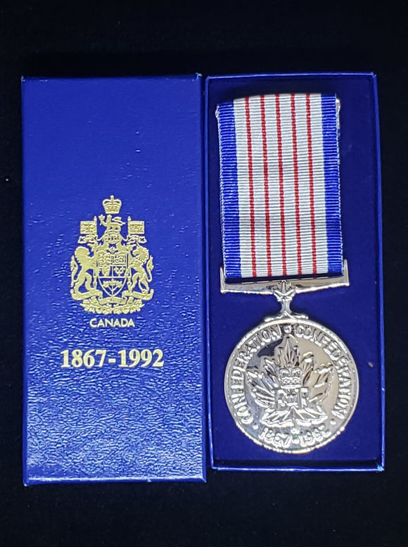 125th Anniversary of Canada Medal, Original