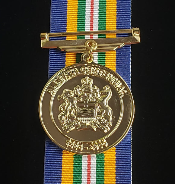 Alberta Centennial 2005 Medal, Reproduction