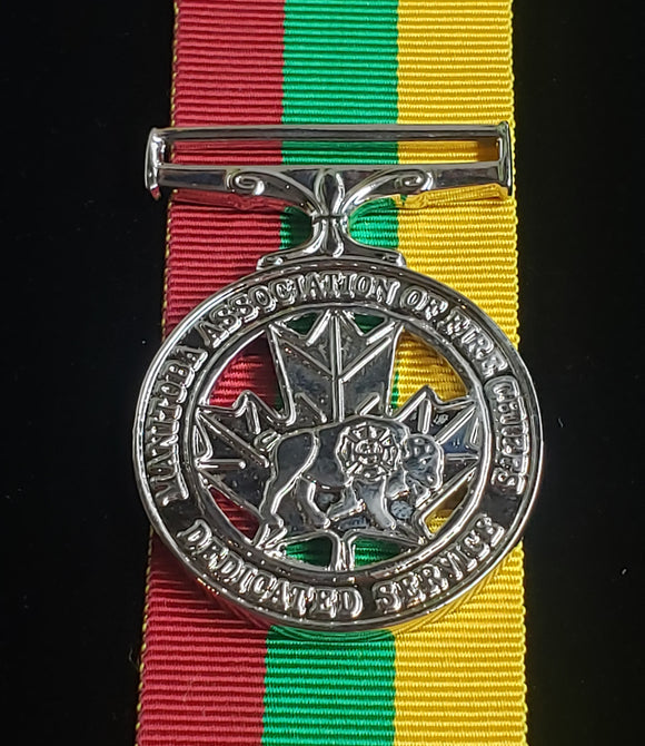 Manitobia Fire Service Medal, Reproduction