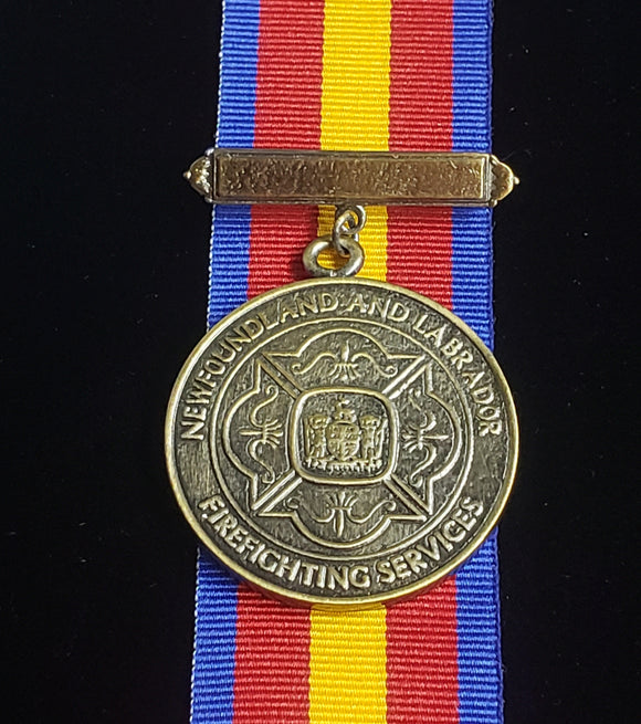 Newfoundland and Labrador Fire Long Service Medal, Reproduction