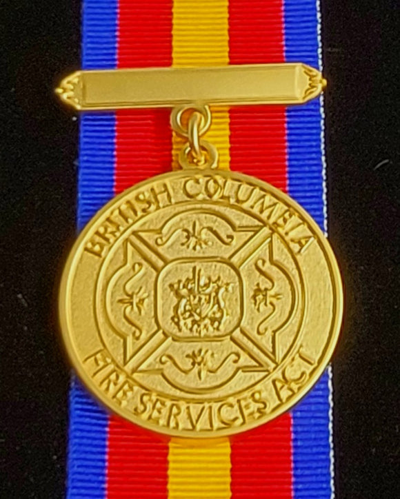 British Columbia Fire Service Medal, Reproduction