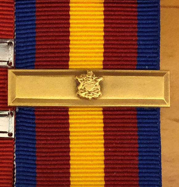 Bar, British Columbia Fire Services Medal