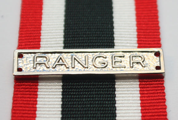 Canadian Special Service Medal RANGER Bar, Reproduction