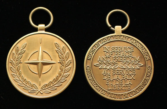 NATO Service Medal (All Missions), Reproduction