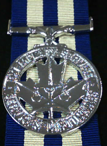 Clearance, Canadian Exemplary Service Medal, Police, Reproduction