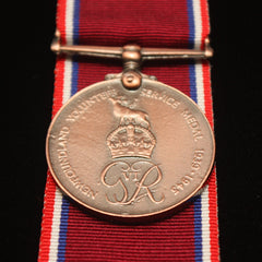 WW2 Newfoundland Volunteer Service Medal, Reproduction