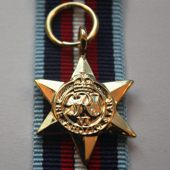 WW2 British/Canada/Commonwealth Arctic Star, Miniature