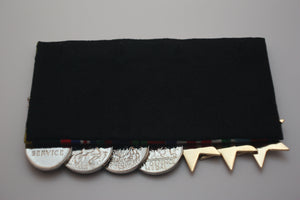 Mounting for Medals (Per Medal) -Court Mounted