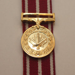 Canadian Medal of Military Valour, Miniature