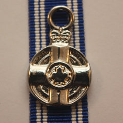 Canadian Meritorious Service Medal, Miniature