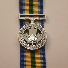Canadian Exemplary Service Medal, Peace Officer, Miniature