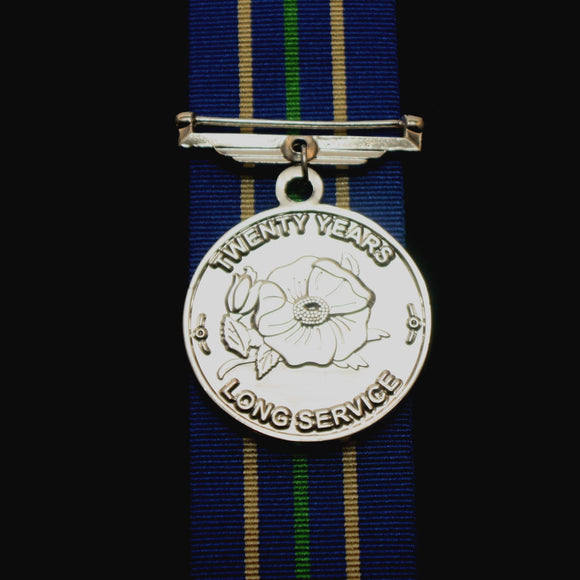 Alberta Law Enforcement 20 Year Long Service Medal, Reproduction