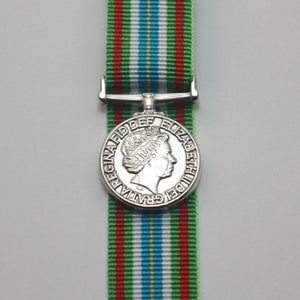 Ebola Medal for Service in West Africa, Miniature