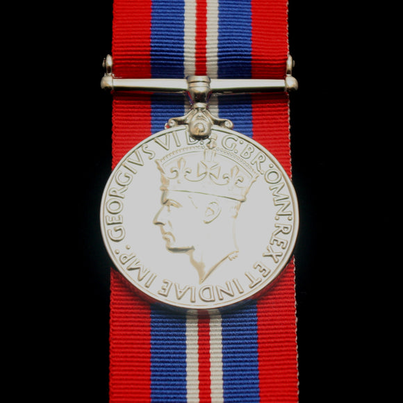 WW2 British/Canada/Commonwealth 39/45 War Medal, Reproduction
