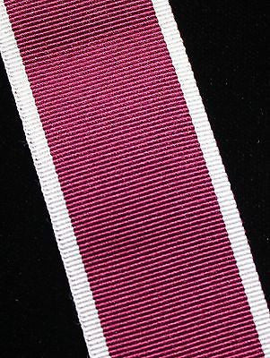 UK Army LS&GC Medal, Full Ribbon