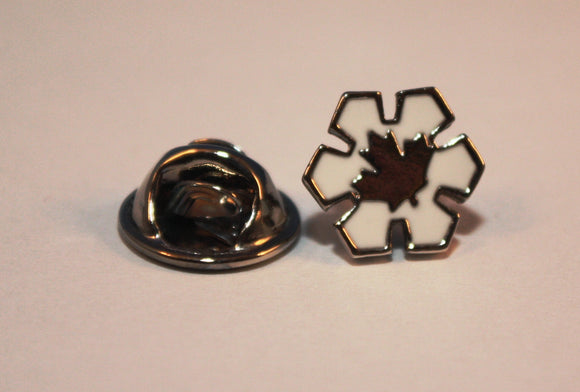 Lapel Pin, Order of Canada, Member (Silver Leaf)