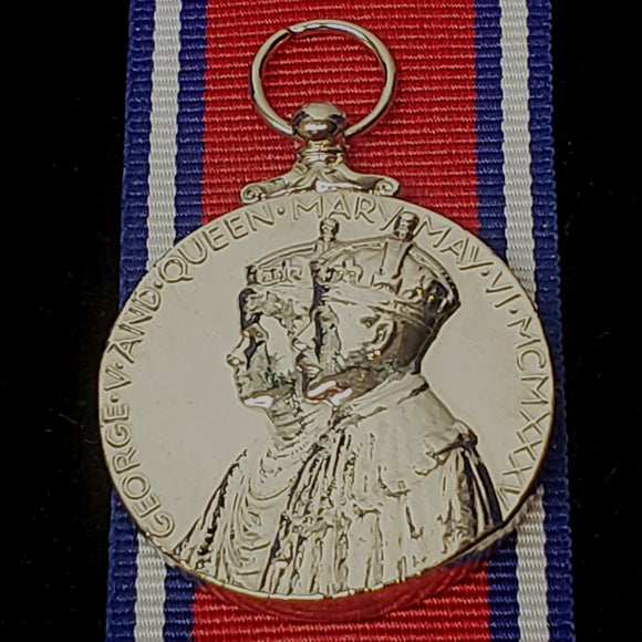 King George V Silver Jubilee 1935 Medal, Reproduction