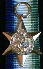WW2 British/Canada/Commonwealth Atlantic Star, Miniature