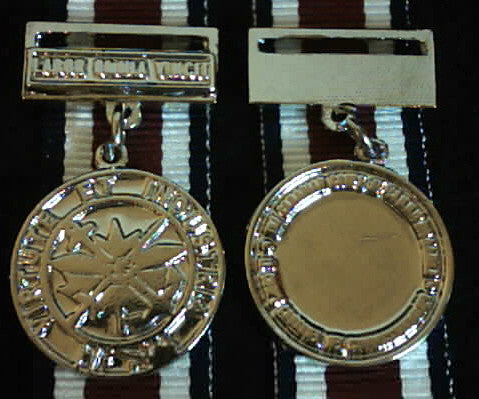 Canadian Corp of Comissionaire Long Service Medal, Miniature