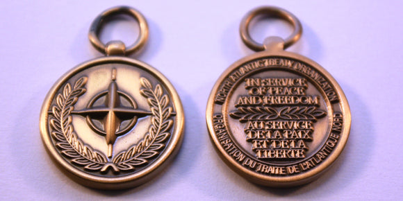 NATO Service Medal, Non-Article 5 Sea Guardian, Miniature
