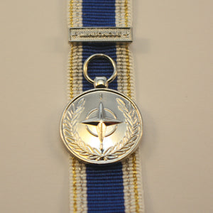 NATO Meritorious Service Medal with Clasp, Miniature