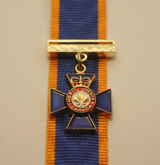 Canadian Order of Military Merit, Officer, Miniature