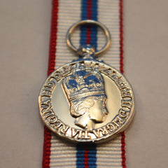 Queen's Silver Jubilee (1977) Medal, Canadian, Miniature