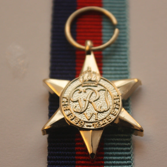 WW2 British/Canada/Commonwealth 39/45 Star, Miniature