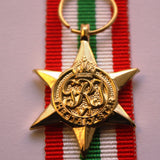 WW2 British/Canada/Commonwealth Italy Star, Miniature