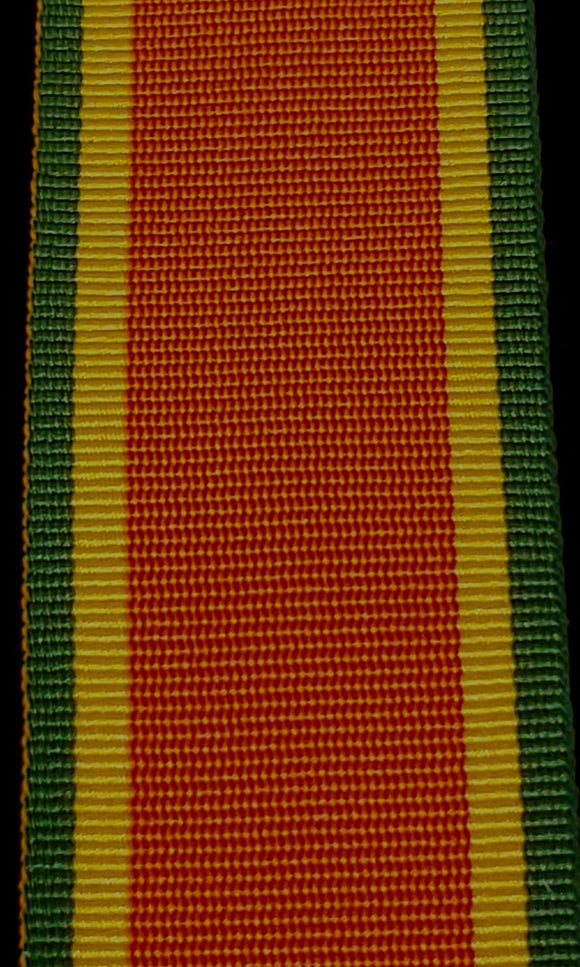 WW2 Africa Service Medal, Full Ribbon 32mm