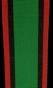 WW2 Southern Rhodesia War Services Medal, Full Ribbon 32mm