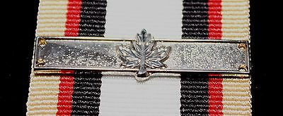 Canadian Multiple Rotation Bar, Silver 1 Maple Leaf, Reproduction