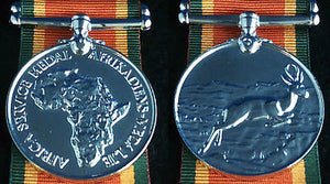 WW2 African War Medal, Reproduction