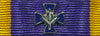 Order of Military Merit, Member, Cross Device for Ribbon Bars