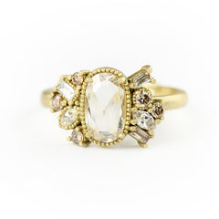 Samantha Louise Jewelry cluster engagement ring