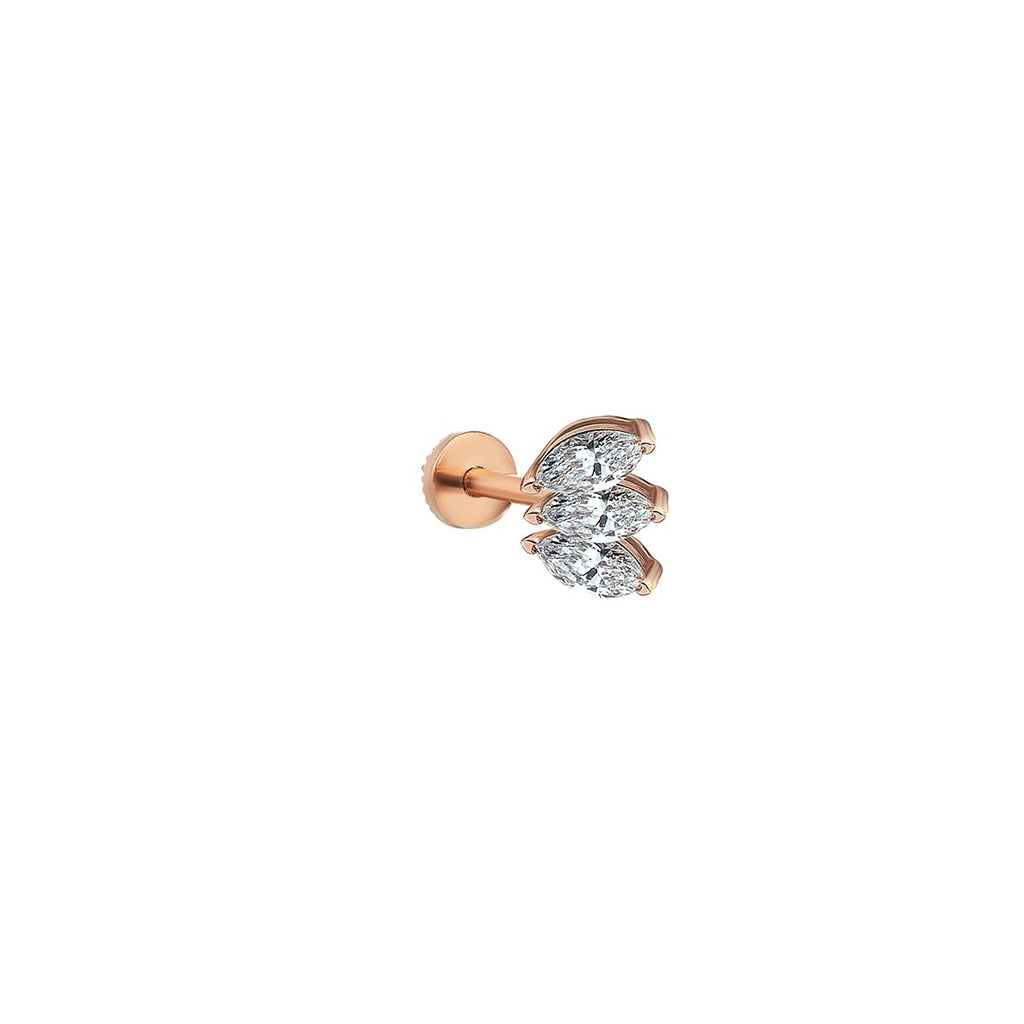 Marquise Piercing Earring