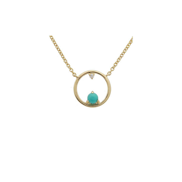 Turquoise Open Necklace