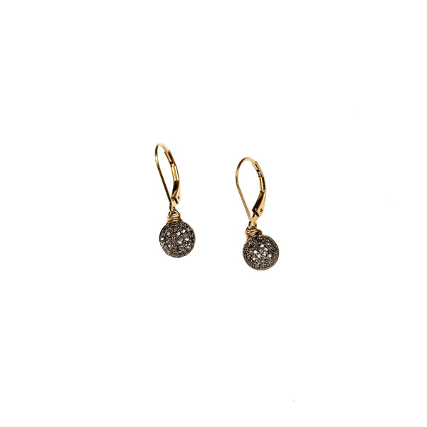 Circle Drop Earrings by Bloom | Metalmark Fine Jewelry