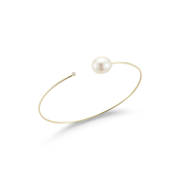 Pearl & Diamond Cuff
