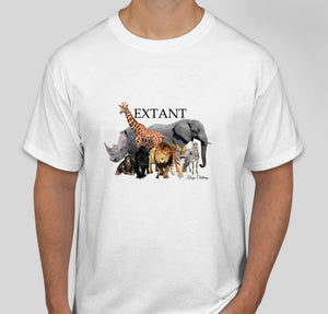 Extant Animals T-Shirt - Save Endangered Species